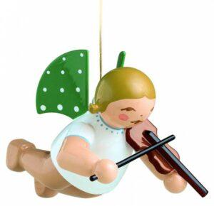 Engel mit Geige schwebend Wendt & Kühn